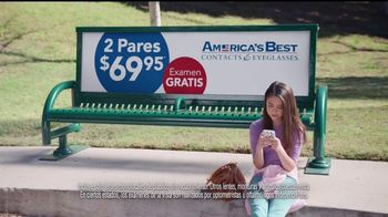 America's Best Contacts and Eyeglasses TV Spot, 'Parque infantil' [Spanish] - Thumbnail 4