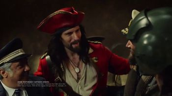 Captain Morgan TV Spot, 'Captain, Captain: Captain Greeting' - Thumbnail 5