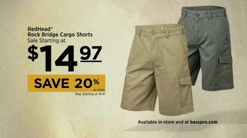 Bass Pro Shops Go Outdoors Event and Sale TV Spot, 'Cargo Shorts and BBQ' - Thumbnail 5