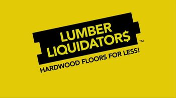 Lumber Liquidators Summer Stack-Out Sale TV Spot, 'The Best Selection' - Thumbnail 1