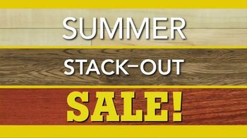 Lumber Liquidators Summer Stack-Out Sale TV Spot, 'The Best Selection' - Thumbnail 2