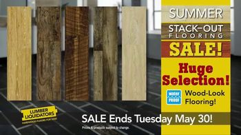 Lumber Liquidators Summer Stack-Out Sale TV Spot, 'The Best Selection' - Thumbnail 3