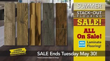 Lumber Liquidators Summer Stack-Out Sale TV Spot, 'The Best Selection' - Thumbnail 5