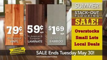 Lumber Liquidators Summer Stack-Out Sale TV Spot, 'The Best Selection' - Thumbnail 7