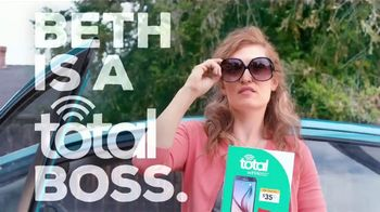 Total Wireless TV Spot, 'Total Boss: Beth Switches' - Thumbnail 1
