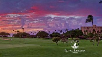 Royal Lahaina Resort TV Spot, 'Sights and Sounds' - Thumbnail 4