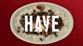 Chipotle Mexican Grill Burrito Bowl TV Spot, 'Nothing to Hide' - Thumbnail 2