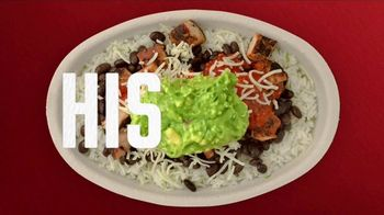 Chipotle Mexican Grill Burrito Bowl TV Spot, 'Nothing to Hide' - Thumbnail 5