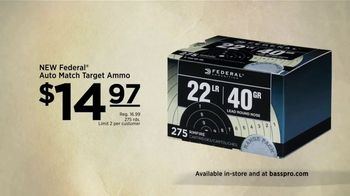 Bass Pro Shops Go Outdoors Event and Sale TV Spot, 'Ammo and Rifle' - Thumbnail 4