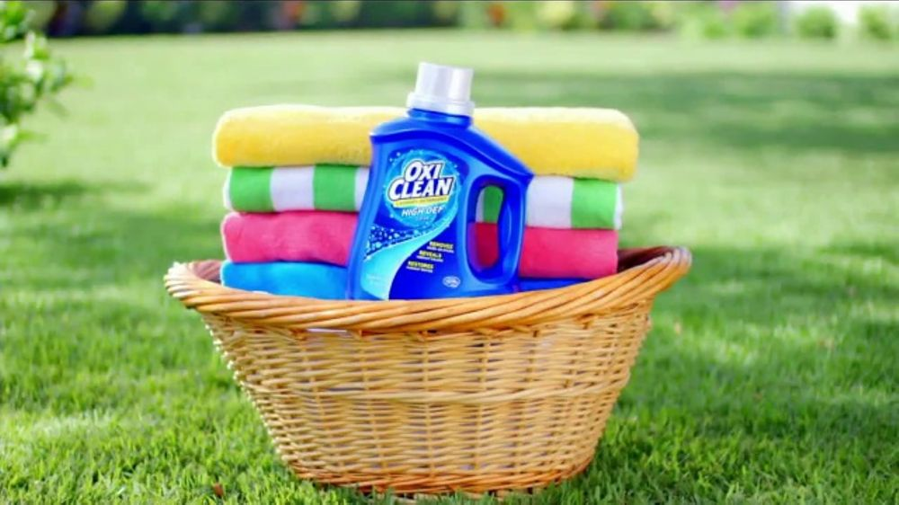 Oxiclean Laundry Detergent Tv Commercial Get Whiter