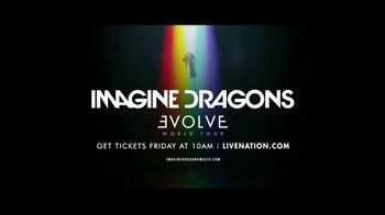 Live Nation TV Spot, '2017 Imagine Dragons Evolve World Tour'