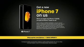 Sprint Unlimited TV Spot, 'The Only Thing Better Is iPhone 7 on Sprint' - Thumbnail 6