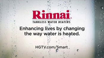 Rinnai Tankless Water Heater TV Spot, 'HGTV: You're in Control' - Thumbnail 10