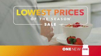GNC Lowest Prices of the Season Sale TV Spot, 'Top Brands' - Thumbnail 1