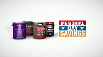 The Home Depot Memorial Day Savings TV Spot, 'Paint Projects' - Thumbnail 5