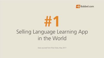 Babbel TV Spot, 'Top Selling Language Learning App' - Thumbnail 3