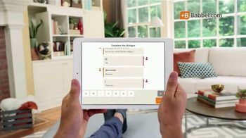 Babbel TV Spot, \'Top Selling Language Learning App\'