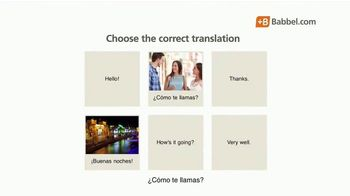 Babbel TV Spot, 'Top Selling Language Learning App' - Thumbnail 7