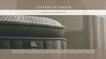 Stearns & Foster Best Savings Event Ever TV Spot, 'Stitching: Select Sets' - Thumbnail 6
