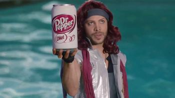 Diet Dr Pepper TV Spot, 'Lil' Sweet: Pool Toy' Featuring Justin Guarini - 2399 commercial airings