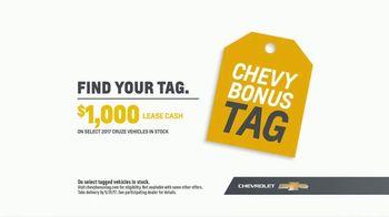 Chevrolet Bonus Tag Event TV Spot, 'Most Awarded: 2017 Cruze' [T2] - Thumbnail 8