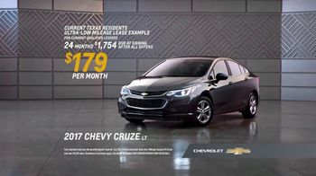 Chevrolet Bonus Tag Event TV Spot, 'Most Awarded: 2017 Cruze' [T2] - Thumbnail 7