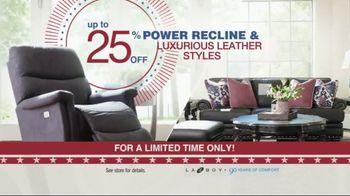 La-Z-Boy Memorial Day Sale TV Spot, 'Power Recline' - Thumbnail 2