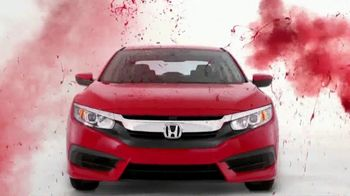 Honda Memorial Day Sales Event TV Spot, 'Red, White and Blue' [T2] - 2 commercial airings