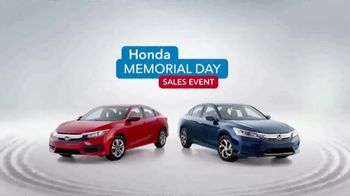 Honda Memorial Day Sales Event TV Spot, 'Red, White and Blue' [T2] - Thumbnail 7