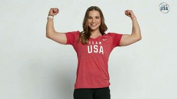 Team USA Shop TV Spot, 'Be Prepared' Featuring Allyson Felix, Gabby Douglas - Thumbnail 5