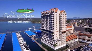 The Coeur d'Alene Resort TV Spot, 'Take a Boat to a Golf Course' - Thumbnail 10