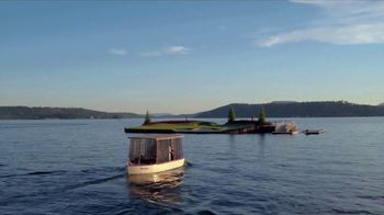 The Coeur d'Alene Resort TV Spot, 'Take a Boat to a Golf Course' - Thumbnail 4