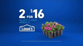 Lowe's TV Spot, 'The Moment: Annuals' - Thumbnail 9