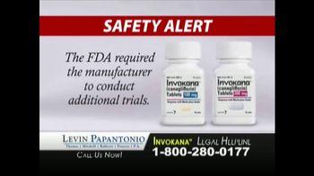 Levin Law TV Spot, 'Invokana Risks' - Thumbnail 4