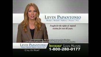 Levin Law TV Spot, 'Invokana Risks' - Thumbnail 7