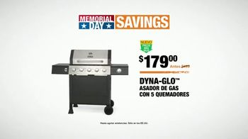 The Home Depot Memorial Day Savings TV Spot, 'Parrilla' [Spanish] - Thumbnail 7