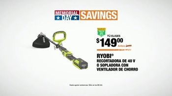 The Home Depot Memorial Day Savings TV Spot, 'Parrilla' [Spanish] - Thumbnail 8