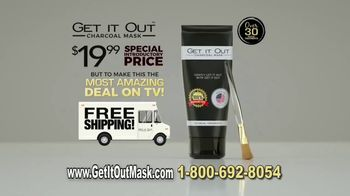 Get It Out Charcoal Mask TV Spot, 'Take Care of Your Face' - Thumbnail 6