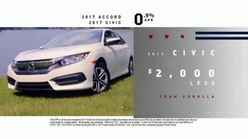 Honda Memorial Day Sales Event TV Spot, 'Don't Miss Your Chance' [T2] - Thumbnail 7