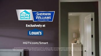 2017 HGTV Smart Home Giveaway TV Spot, 'Sherwin-Williams: Paint Smarter' - Thumbnail 9