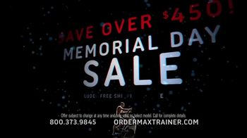 Bowflex Max Trainer Memorial Day Sale TV Spot, 'Total Body Workout' - Thumbnail 5