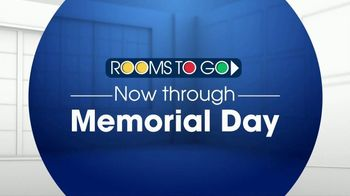 Rooms to Go TV Spot, 'Memorial Day: Power Sectional' - Thumbnail 1
