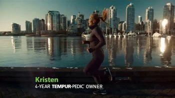 Tempur-Pedic Memorial Day Savings Event TV Spot, 'Jog' Feat. Kristen Hetzel