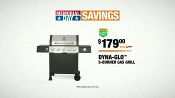The Home Depot Memorial Day Savings TV Spot, 'Grill, Trimmer and Blower' - Thumbnail 7
