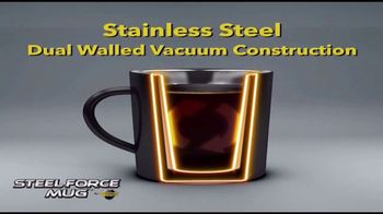 Atomic Beam Steel Force Mug TV Spot, 'Dual Wall Insulation' - Thumbnail 4