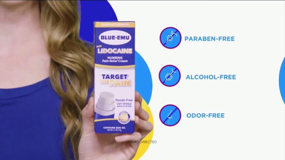 Blue-Emu Lidocaine Pain Relief Cream TV Commercial, 'Stop the Wasteful Mess'