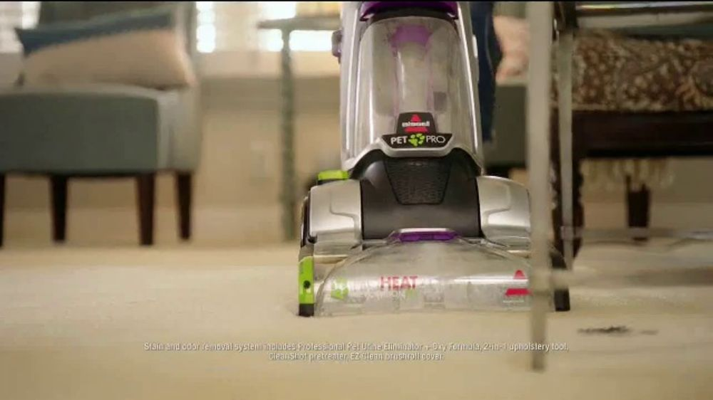 Bissell Proheat 2x Revolution Pet Pro Tv Commercial We