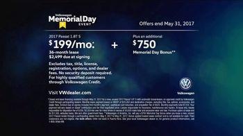 Volkswagen Memorial Day Event TV Spot, 'Bear' [T2] - Thumbnail 9