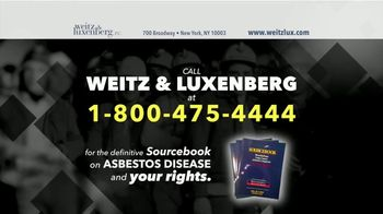 Weitz and Luxenberg TV Spot, 'Smokers and Asbestos' - Thumbnail 1