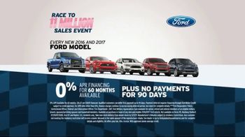 AutoNation Race to 11 Million Sales Event TV Spot, 'Ford Models' - Thumbnail 3